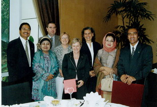 With Australian Parliamentarians -2005