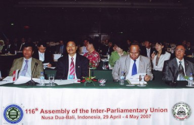 The 116th Assembly of IPU Congress 2007