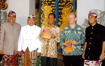 Treasures of Bali book launching,2005