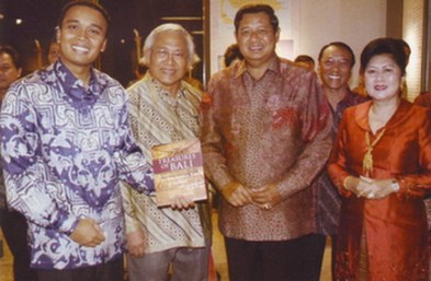 Putu Supadma Rudana and President SBY,2007