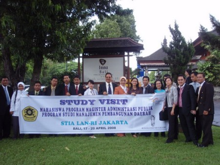 STIA LAN Group photo in Inna BALI Hotel Denpasar